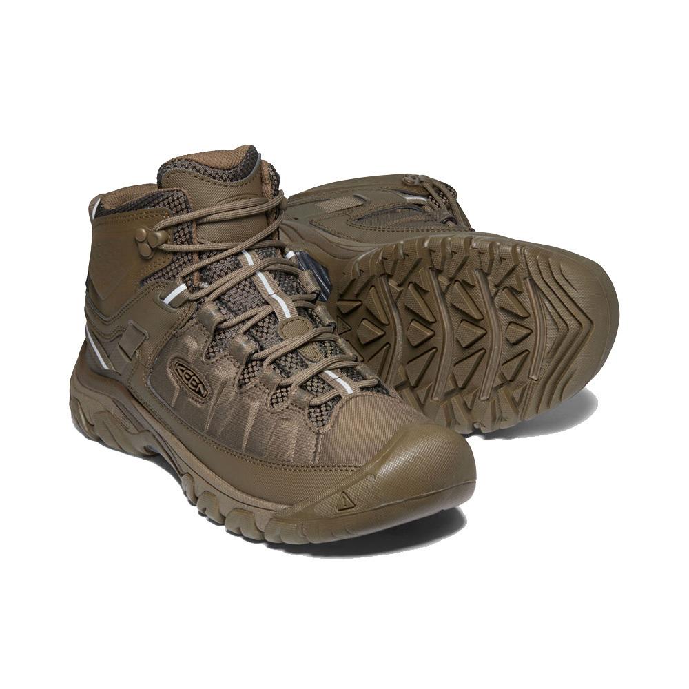 Keen Targhee EXP Mid WP Mens Waterproof Hiking Boots Canteen Canteen