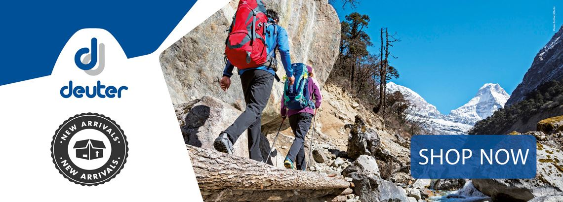 Deuter New In Homepage Banner