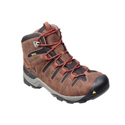 KEEN Gypsum Mid Waterproof Mens Hiking Boots - Dark earth / Gray