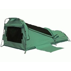 Onland Barrington DOUBLE Dome Canvas Swag GREEN