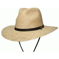 Barmah Fishermans Fedora Raffia Straw Hat