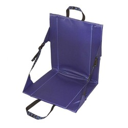 Crazy Creek Long Back Folding Outdoor Chair - Royal Blue