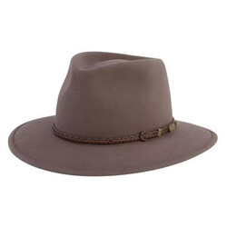 Akubra Traveller Crushable Foldable Felt Hat