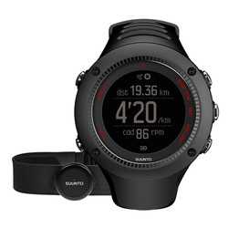 Suunto Ambit 3 Run HR GPS Watch with Heartrate Monitor - Black