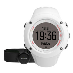 Suunto Ambit 3 Run HR GPS Watch with Heartrate Monitor - White