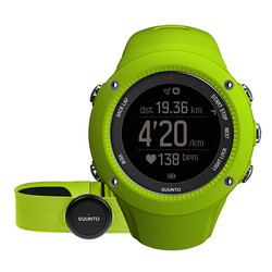 Suunto Ambit 3 Run HR GPS Watch with Heartrate Monitor - Lime