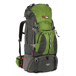 Black Wolf Bugaboo 70+10L Hiking Rucksack - Forest green