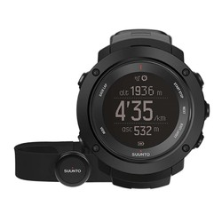 Suunto Ambit 3 Vertical  GPS Watch with Heartrate Monitor - Black HR