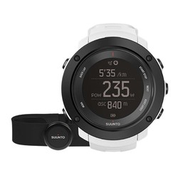 Suunto Ambit 3 Vertical  GPS Watch with Heartrate Monitor - White HR
