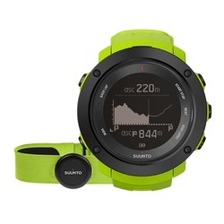 Suunto Ambit 3 Vertical  GPS Watch with Heartrate Monitor - Lime HR