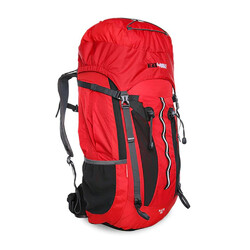 Black Wolf B-Lite 55L Hiking Rucksack - Chilli