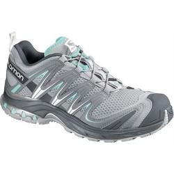 Salomon XA PRO 3D Womens Trail Running Shoes - Grey/Light Blue