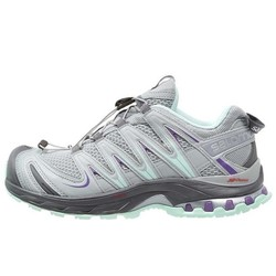 Salomon XA Pro 3D Women's Trail Running Shoes - Light Onix/Igloo Blue