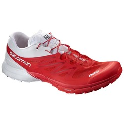 Salomon S-Lab Sense 5 Ultra Unisex Trail Running Shoes- Racing Red/White/ Racing Red