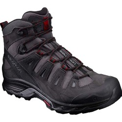 Salomon Quest Prime Mens GTX Waterproof Hiking Boots - Magnet/Black/Red