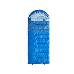 Caribee Moonshine 10c Kids hooded sleeping bag - BLUE
