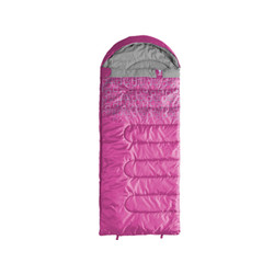 Caribee Moonshine 10c Kids hooded sleeping bag - PINK