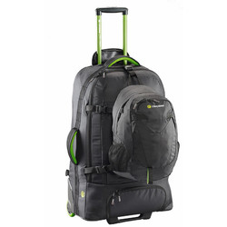 Caribee Fast Track 85L Wheeled Travel Pack with Daypack