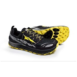 Altra Lone Peak 3.0 Mens Trail Running Shoes- Black/Yellow