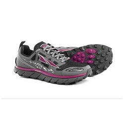 Altra Lone Peak 3.0 Womens Trail Running Shoes - Black/Purple
