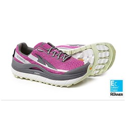 Altra Olympus 2.0 Womens Trail Running Shoes- Purple/Lime