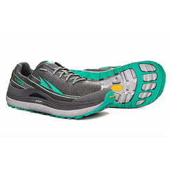 Altra Olympus 2 Womens Trail Running Shoes  - Silver Green
