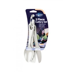 Sea To Summit 3 Piece Polycarbonate Cutlery Set