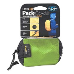 SEA TO SUMMIT sn240 PACK COVER SML 30-50 LT - Lime