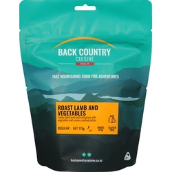 Back Country Freeze Dried Food  Roast Lamb and Vegies 2 Serve