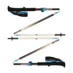 Black Diamond FlickLock Distance Z-POLE Hiking Poles - Medium