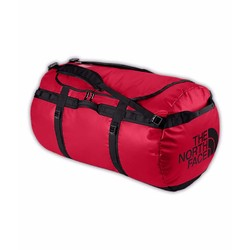 The North Face Base Camp Duffel Bag Xxl - Red/ Black