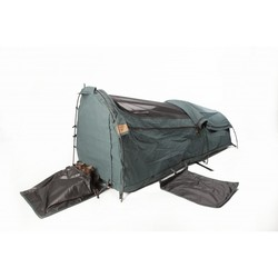 Burke and Wills Coolabah DOUBLE Dome Canvas Swag - CANVAS BASE