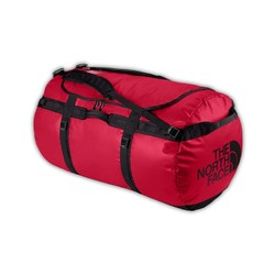 The North Face Base Camp Duffel Bag 50L- S - Red/Black