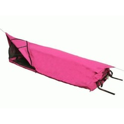 Burke and Wills Ironbark PINK Single Deluxe Canvas Swag