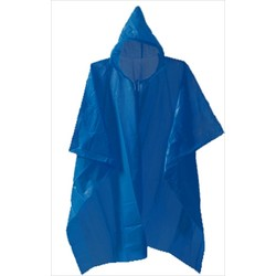 Lonely Planet Lightweight Rain Poncho - Blue