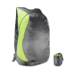 Lonely Planet Ultralight Compact Foldable Backpack - Lime