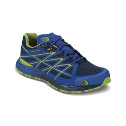 The North Face Mens Ultra Endurance Trail Running Shoes - Cosmic Blue/Macaw Green