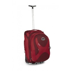 Osprey Ozone Convertible 50L Ultralight CARRY ON Wheeled Travel Backpack & Daypack - Red
