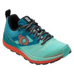 Pearl Izumi EMotion Trail N2 v3 Womens Trail Running Shoes - Enamel Blue/Aqua Mint