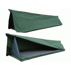 AOS Tent Apex Style Double Canvas Swag & 70mm Mat