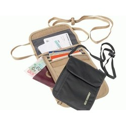 Sea To Summit Travel Light Neck Wallet SAND