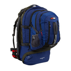 Black Wolf Cedar Breaks 55L Travel Backpack & Zip-off daypack