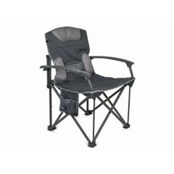 Companion Rhino Deluxe Folding Camp Chair & armrests - 150kg rated
