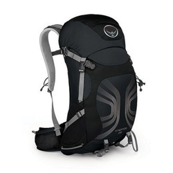 Osprey Stratos 26 Mens Hiking Rucksack - Anthracite Black - ML