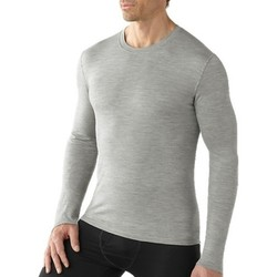 SmartWool Mens Base Layer Microweight Crew Shirt