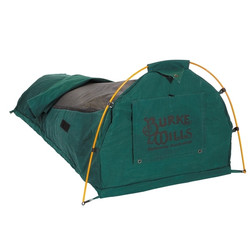Burke and Wills Waratah DOUBLE Dome Canvas Swag - CANVAS BASE