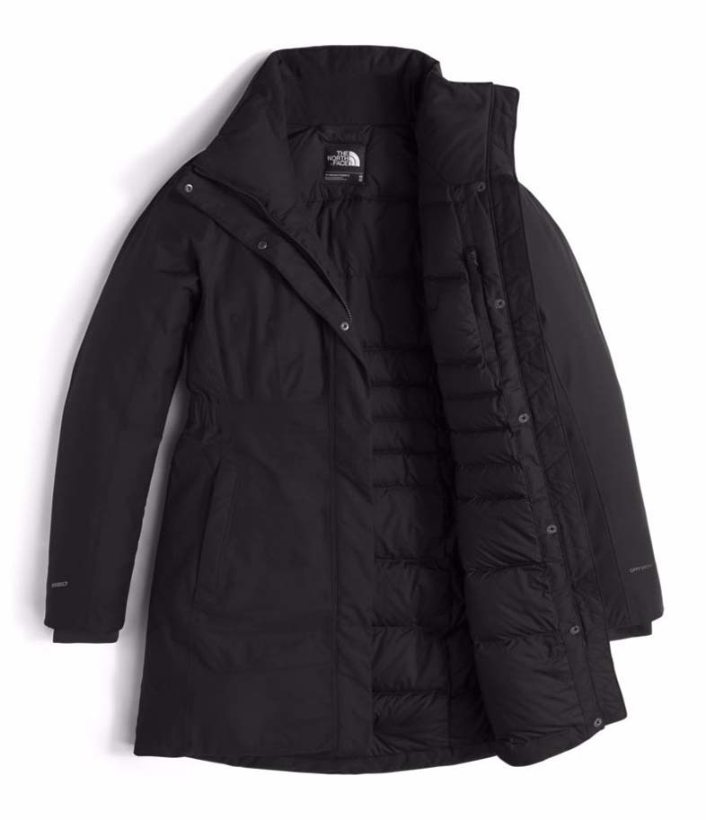 the north face arctic ii womens parka tnf black. Black Bedroom Furniture Sets. Home Design Ideas