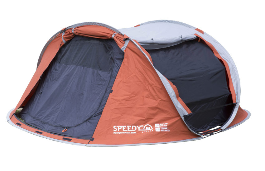 Show More  sc 1 st  Wild Earth & EPE Speedy SAHARA 3 Person 2 Second Polycotton Pop-up tent