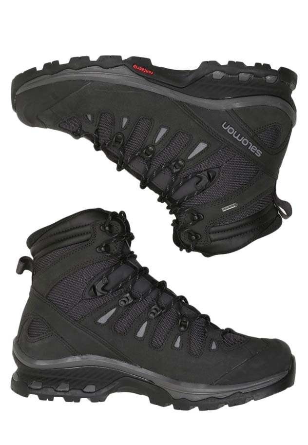 40c6ac07bb2 Salomon Quest 4D 3 GTX Gore-Tex Mens Hiking Boots - Phantom/Black/Quiet  Shade