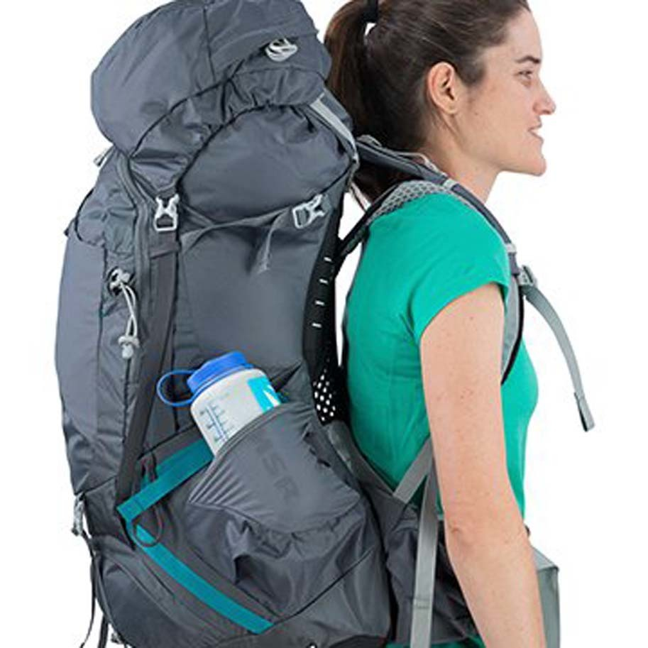 Osprey Aura AG 50L Womens Hiking Backpack - Vestal Grey. Show More c445dc19cc6b7